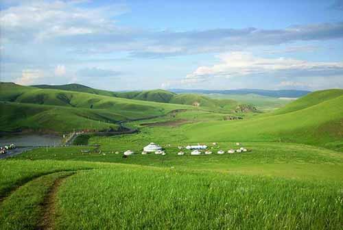 敖包相会可汗山草原旅游区