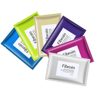泰国正品Fibroin面膜三层蚕丝
