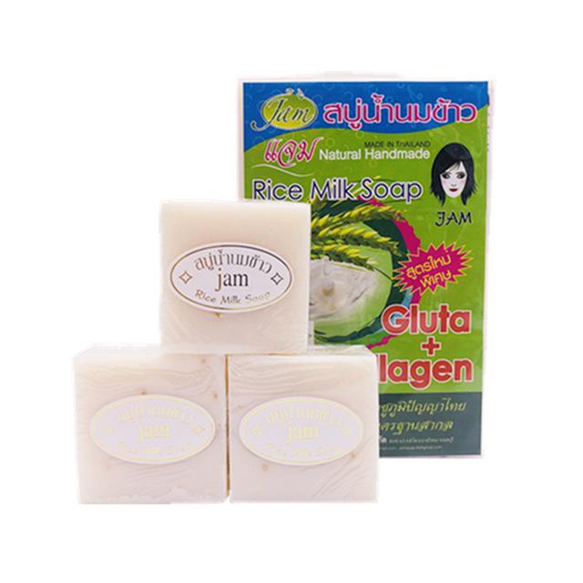 泰国JAM大米手工皂 冷制手工皂