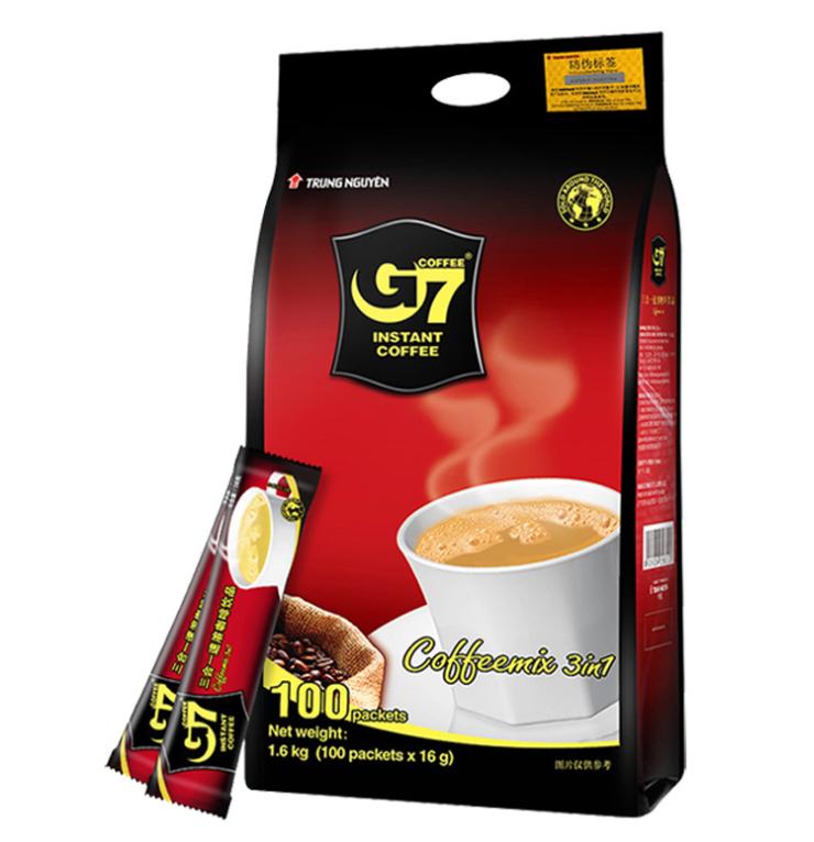 越南进口G7咖啡速溶三合一咖啡