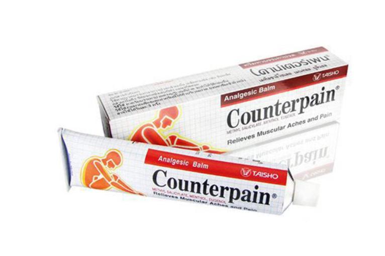 泰国施贵宝Counterpain肌肉酸痛膏