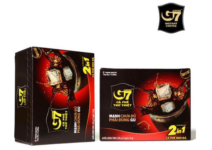 越南G7咖啡三大系列介绍!
