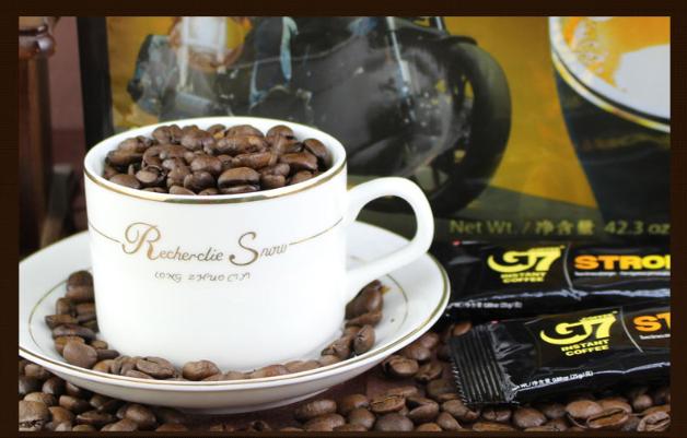 提神醒脑!越南G7咖啡浓醇速溶型