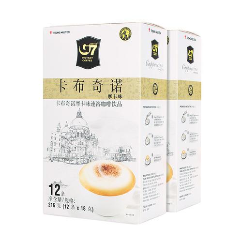 越南G7卡布奇诺速溶咖啡