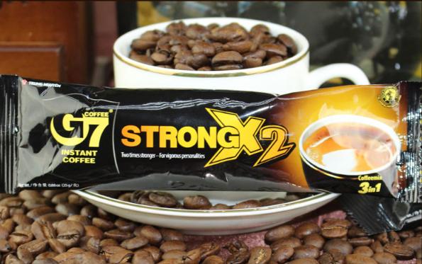 越南G7浓醇咖啡!白领必备咖啡