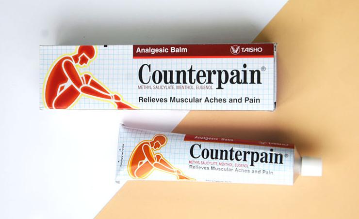 Counterpain施贵宝酸痛膏的功效与使用说明